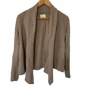 Cynthia Rowley 100% Cashmere Cardigan Sweater Open